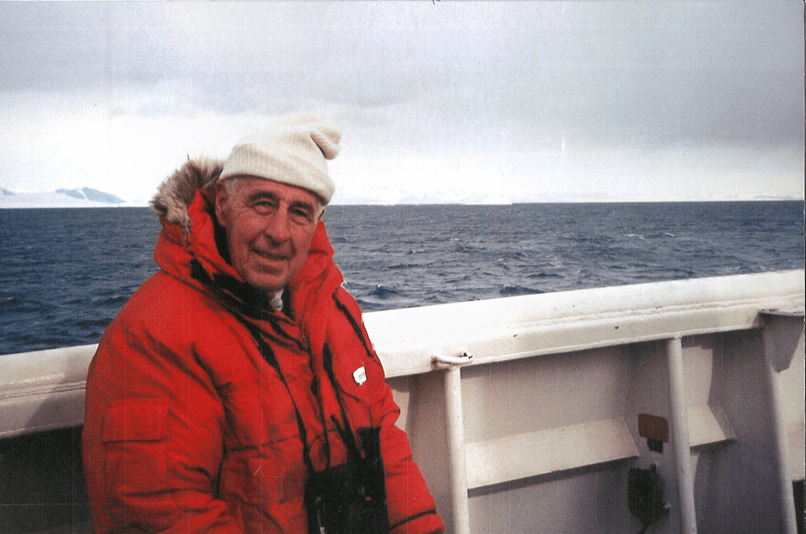 Toastmaster John Donnellon was employed as a boiler technician and maintenance specialist stationed at McMurdo Station in Antarctica for three summers. There he joined the only Toastmasters club—Club 549, which had 20 to 25 members who came from all over the world.