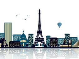 Image of Paris cityscape