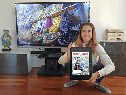 Laura Tierra of Barcelona, Spain, virtually revisits an olive shop she discovered in Morocco, prior to the COVID-19 travel restrictions.