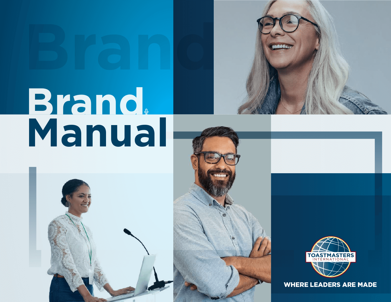 Toastmasters International brand manual cover