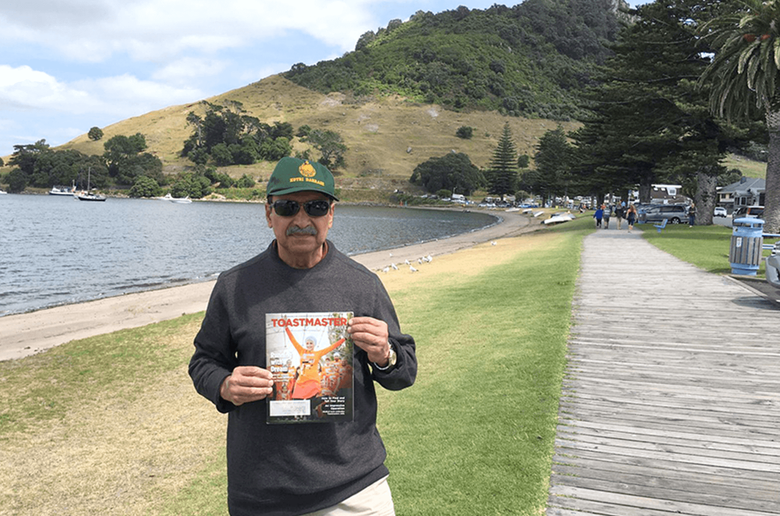 Zafar Agha of Spring, Texas, spent five weeks traveling through New Zealand earlier this year.