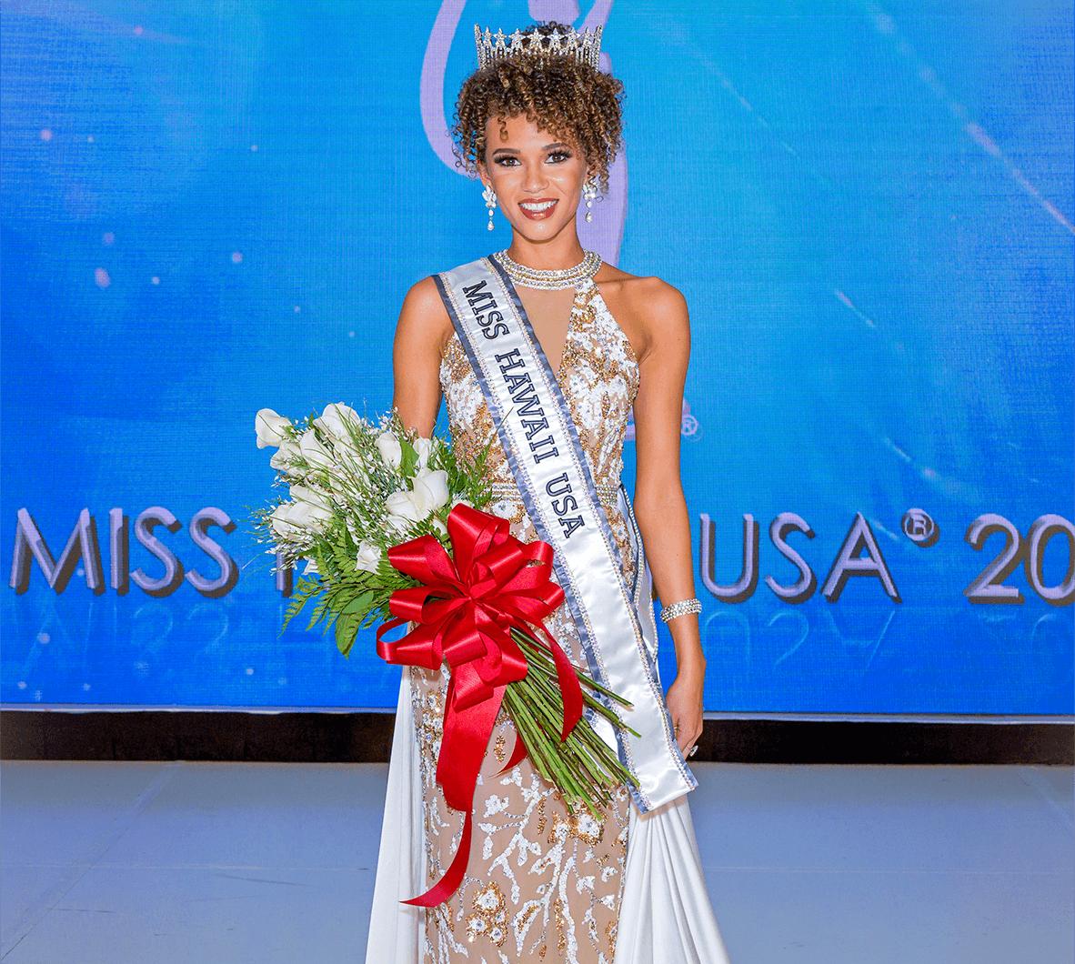 Samantha Neyland was crowned 2020 Miss Hawaii USA on November 10, 2019. Photo Credit: BK Photo