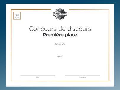 Examples of translated certificates