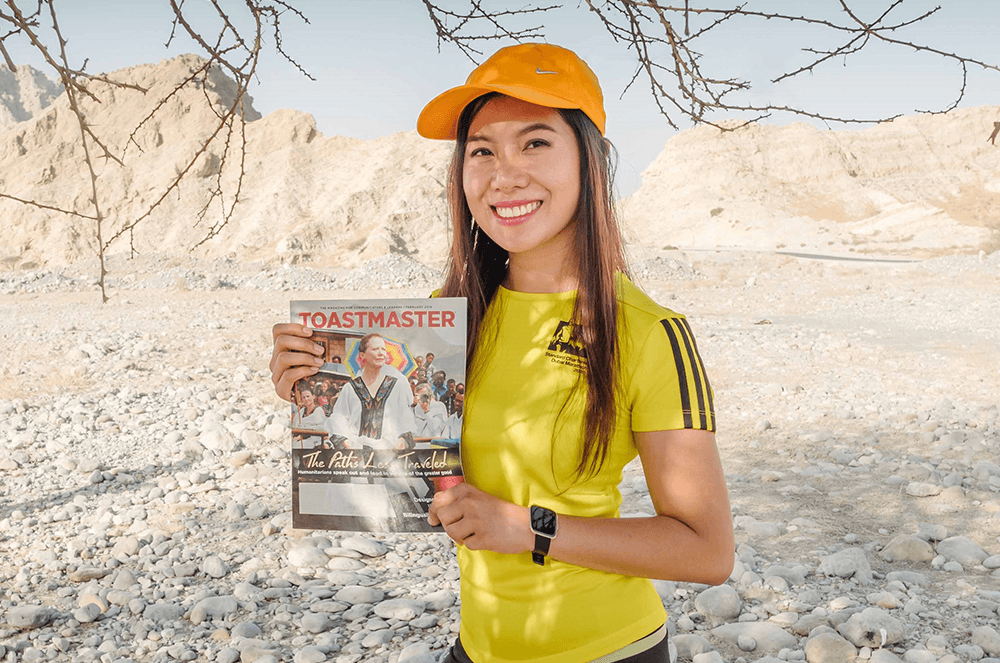 Neev Condes of Ajman, United Arab Emirates, stands at the foot of the highest mountain in United Arab Emirates—Jebel Jais—prior to the pandemic.