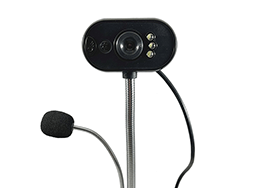 Webcam and microphone product