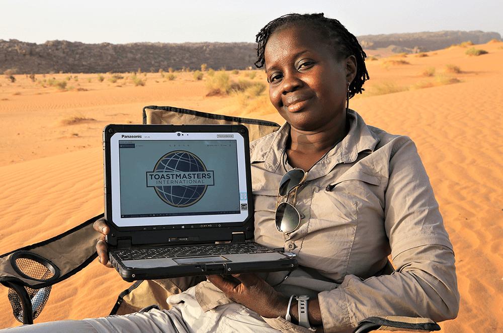 Ada Yaya Bocoum, DTM, of Ouagadougou, Burkina Faso, safely travels to Mauritania, Africa, in March 2021.