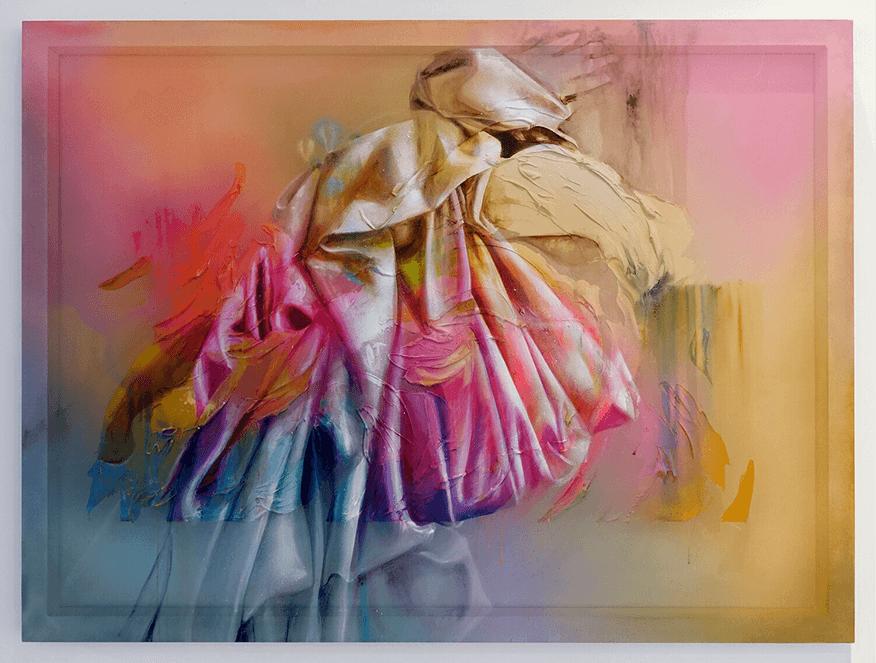 "This conceptual artwork by Allison Torneros is called ""Codex Humanitas."""