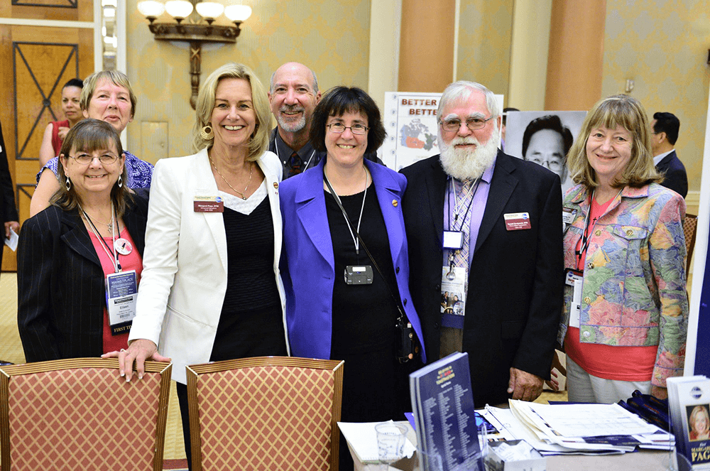 Page campaigns for International Director at the 2015 International Convention in Las Vegas, Nevada.