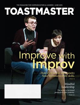 Toastmaster June 2015