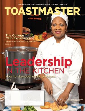 Toastmaster May 2015