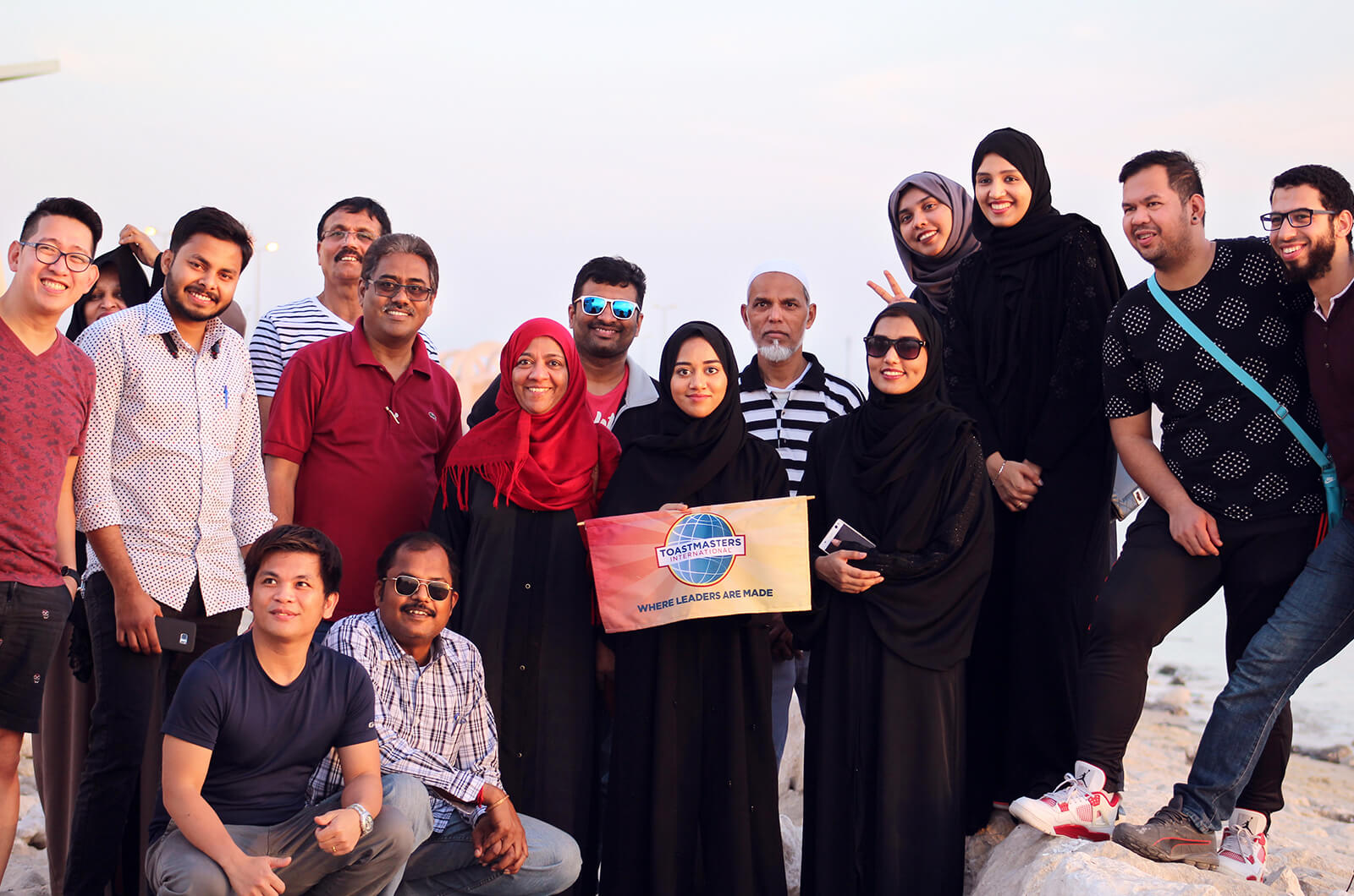 Horizon Toastmasters club of Al- Khobar, Saudi Arabia, celebrate 10 years.