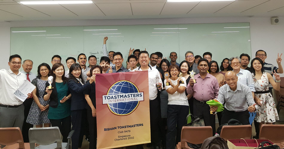 Bishan Toastmasters from Singapore