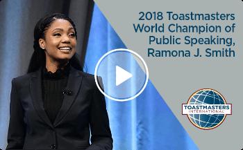 World Champion of Public Speaking 2018