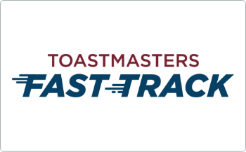 Photo: Toastmasters International Fast Track Program