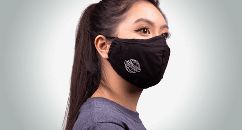 October 2021 reusable mask product promo
