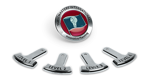 Toastmasters International Path Pin
