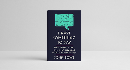 I Have Something to Say book cover