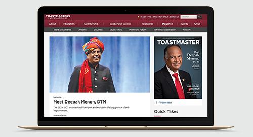 Toastmasters International -Home