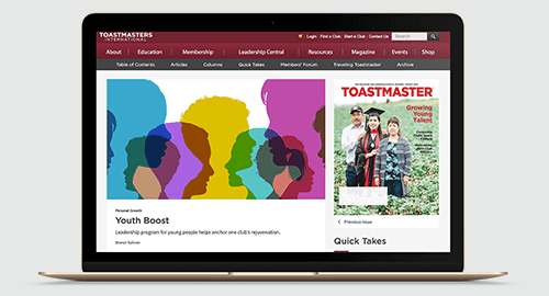 Toastmasters Online Magazine March 2020