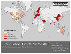 Distinguished Districts 2010