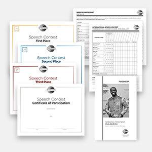 Evaluation Speech Contest (Digital) Kit