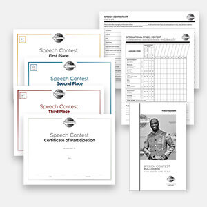 Table Topics Speech Contest (Digital) Kit