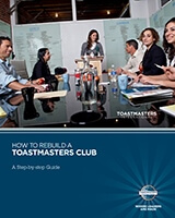 1158 - How to Rebuild a Toastmasters Club