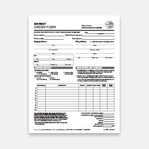 District Order Form