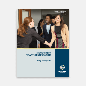 121 - How to Build a Toastmasters Club