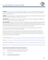 Club Dissolution Form-450