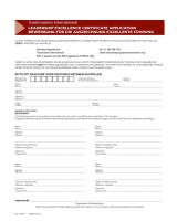 DE1229 Leadership Excellence Certificate Application thumbnail