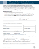 DE8951 - Mentor Program Completion Form