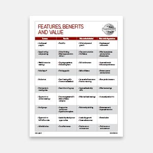 Features Benefits Values thumbnail