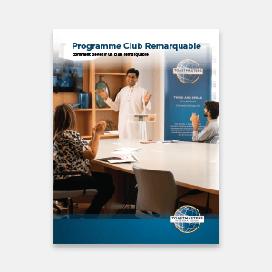 Distinguished Club Program and Club Success Plan - French thumbnail
