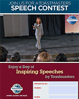 Speech Contest Flier