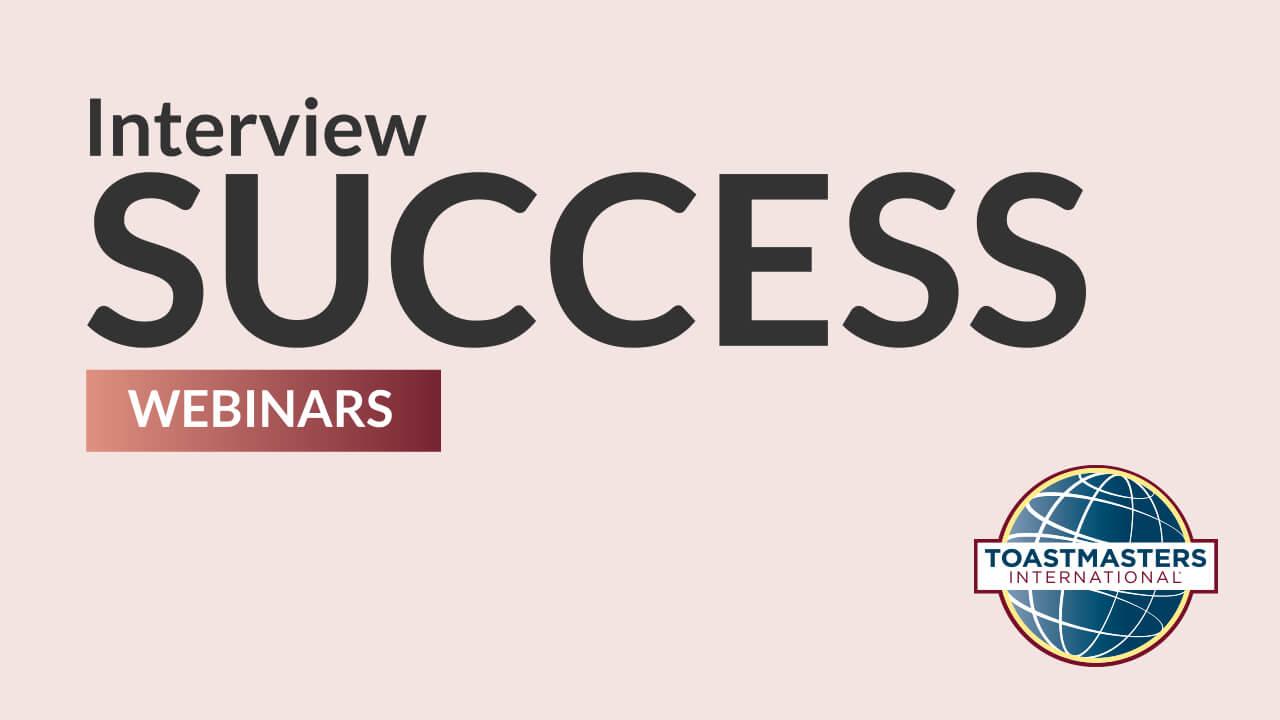 Interview Success Webinars